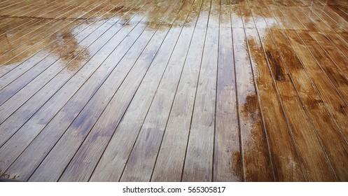 Timber Floor Decking Images Stock Photos Vectors Shutterstock