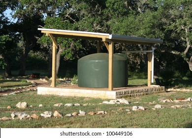 A rainwater collection system