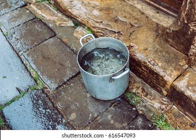Rainwater harvesting in the monastery