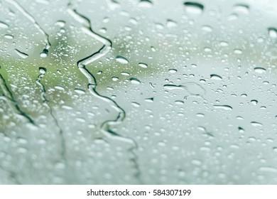 Rainy abstract