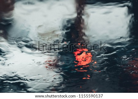 Rainy Day Background 2018 Wallpaper The Photo Of Raindrops On Glass Lights