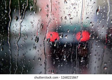rainy day on the street 2