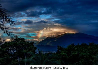 Rainy rainbow at Hualien, Taiwan