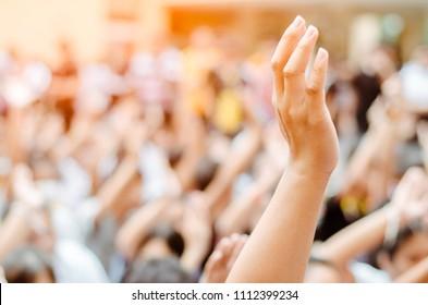 Raising Hands for Participation,Vote,