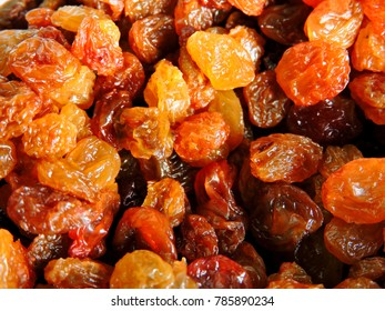 Raisins as a background