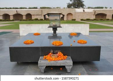 Raj Ghat Mahatma Gandhi Samadhi, Delhi, India