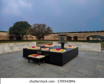 Raj Ghat-The final resting place of Mahatma Gandhi