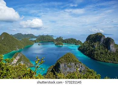Raja Ampat islands.