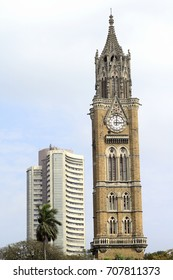 Rajabai Tower and  Bombay Stock Exchange Building
