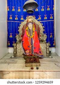 Rajasthan: November 2018: Sai Baba Temple at Rajasthan. (India)