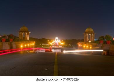 Rajpath 'King's Way' is a ceremonial boulevard in Delhi that runs from Rashtrapati Bhavan on Raisina Hill through Vijay Chowk and India Gate to National Stadium, Delhi.
