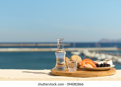 raki and snack