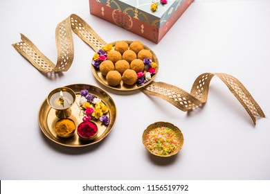 how to set the plate for raksha bandhan