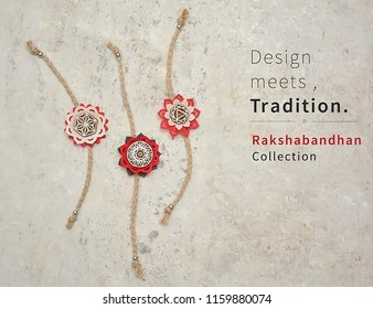 Raksha Bandhan is a festival of the Indian subcontinent and centred around the tying of a thread on the wrist as a form of bond and ritual protection. Picture of Rakhis with quotes.