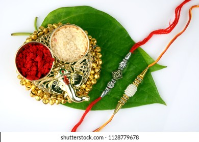 Raksha bandhan or Rakhi an Indian festival for brothers and sisters