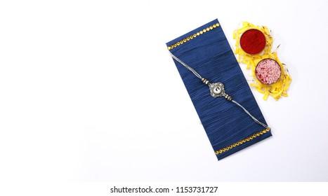 Raksha bandhan or Rakshabandhan simple Rakhi or Raki