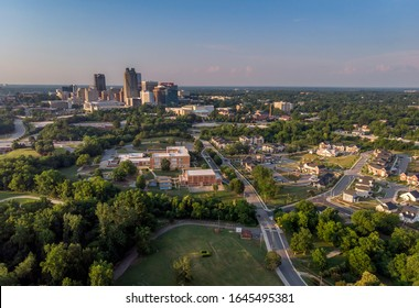Raleigh Downtown Aerial View Picture