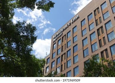 Raleigh, NC - May 2021: Residence Inn in Raleigh, North Carolina