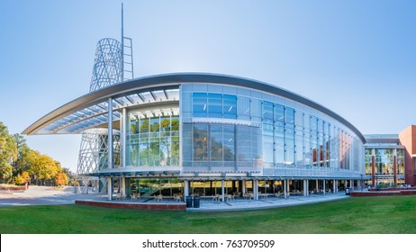 RALEIGH, NC, USA - NOVEMBER 24: Talley Student Union on November 24, 2017 at North Carolina State University in Raleigh, North Carolina.