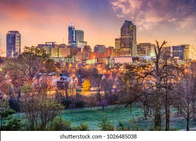 Raleigh, North Carolina, USA skyline.