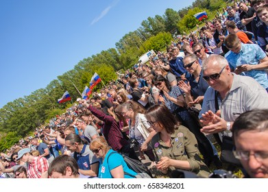 Rally against corruption in Russia on the Day of the Constitution of the Russian Federation. A rally against the Prime Minister of Russia Dmitry Medvedev. 12-06-2017. Russia. Tolyatti city.