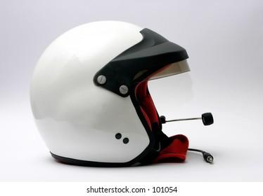 rally racing helmet