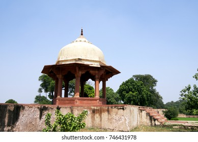 Ram Bagh at Agra. Ram Bagh is the oldest Mughal Garden in India, originally founded by the Mughal emperor Babur in 1528.