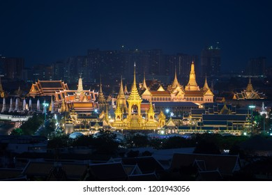 Rama 9 royal funeral pyre from Thailand