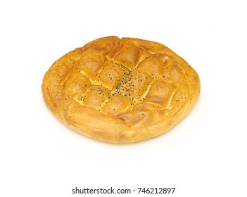 ramadan bread pide Ramadan Pita Traditional Turkish bread for holy month Ramadan.
