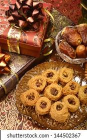 Ramadan gift with sweets