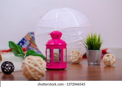 Ramadan Kareem with Islamic background, Ramadan lantern, Lamp photography