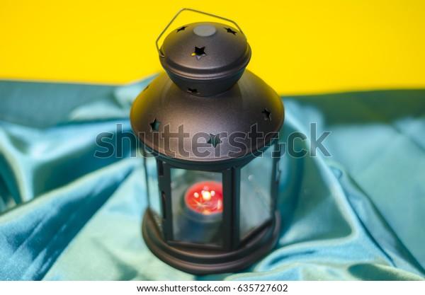 Ramadan Kareem, Ramadan lantern, Lamps photography, Ramadan Festival, Generous Ramadan, yellow background