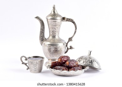 Ramadan kareem with premium dates