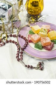 Ramadan lamp with gifts