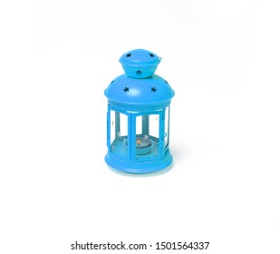 Ramadan lantern isolated. white background.