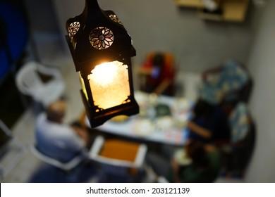 Ramadan lantern light lamp