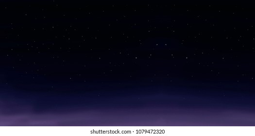Ramadan Stary Night Sky Background