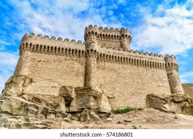 Ramana Castle in Ramana village of Baku. Azerbaijan. Built in the 16th century