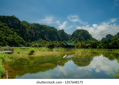 Ramang-ramang Little swamps in Indonesia