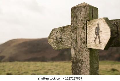 rambling Sign national trail