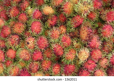 Rambutan, Thailand Fruit market