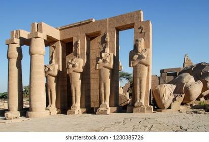 Ramesseum, Theban Necropolis, Luxor, Egypt