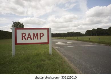 Ramp ahead