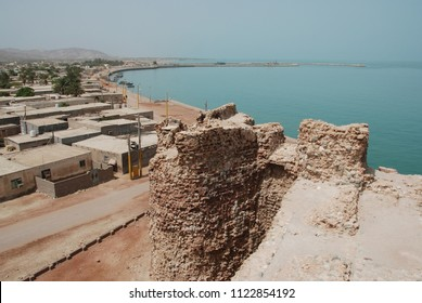 Rampart of the Portugese fort of Hormuz Island