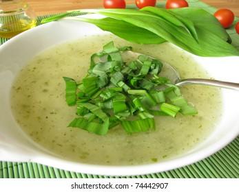 Ramsons soup
