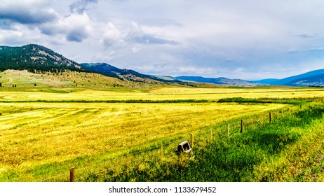 Ranch Land in the Nicola Valley along Highway 5A between Merritt and Kamloops, British Columbia, Canada