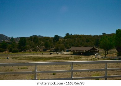 A ranch on Highway 74 going to Idyllwild, CA.