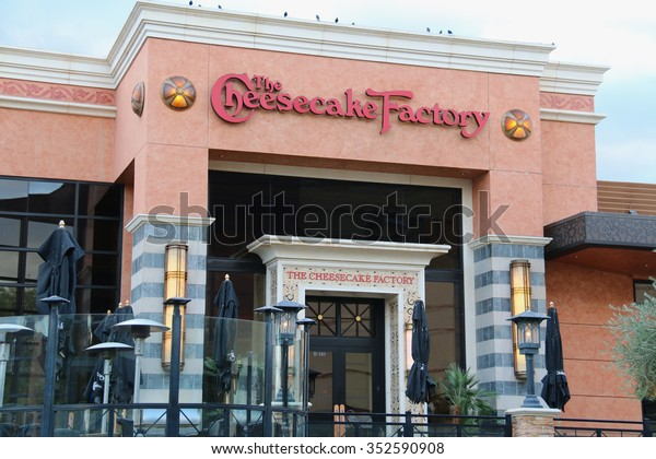 Rancho Mirage, California, USA - November 26, 2015: The Cheesecake Factory is a distributor of cheesecakes and restaurant in the United States.
