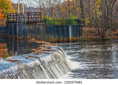 The Rancocas Creek was used to generate power for the industrial village of Smithville in the early 1900's.