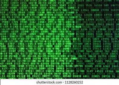 random matrix number running on computer by write code on cmd